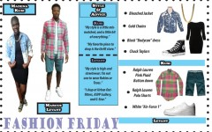 Fashion Friday with Marcus Levant and Madena Kusi
