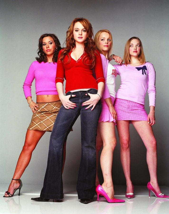 Quality: Original.  Film Title: Mean Girls/Lindsay Lohan, Rachel McAdams, Lacey Chabert & Amanda Seyfried.  Copyright: TM&Copyright ©2003 by Paramount Pictures. All Rights Reserved. For further information: please contact your local UIP Press Office.