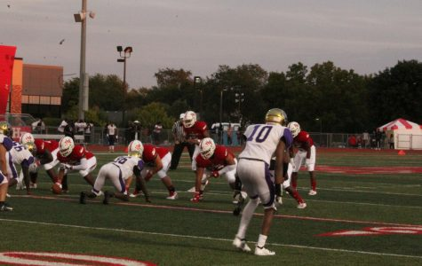 The Vikings offense is ready to take on the TF North Meteors.