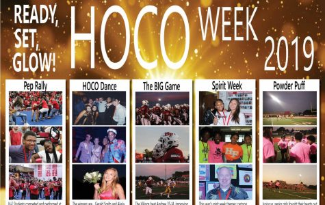 Ready, Set, Glow! Here's a quick look into H-F's Homecoming Week 2019.
