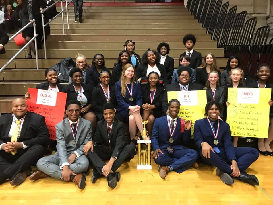 Speech team takes the tourney   On November, 2nd, 2019 the novice speech team placed first our of five teams. This was the team's first tournament of the year.