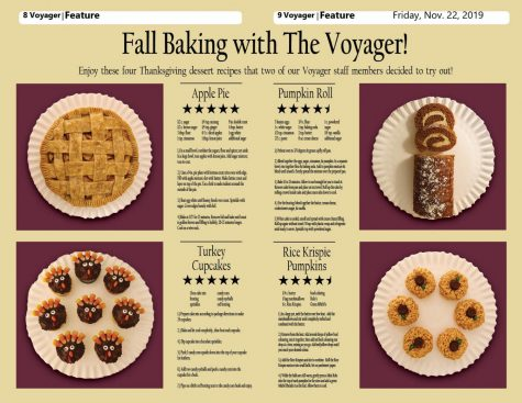 Fall Baking with the Voyager!