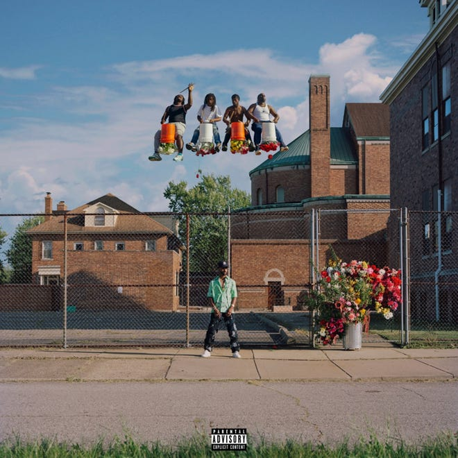 Big Sean album cover for Detroit 2