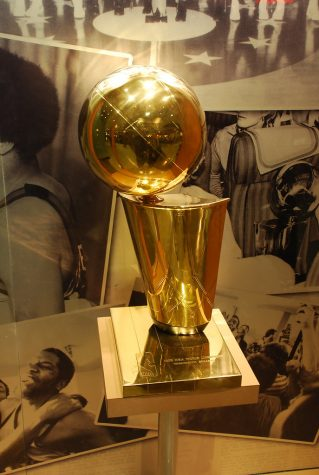 """NBA Championship Trophy"" by afagen is licensed under CC BY-NC-SA 2.0"