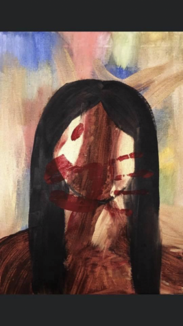 ¨No Longer Silenced¨, an acrylic painting of MMIW awareness for Indigenous  Peoples by Nizhoni Ward