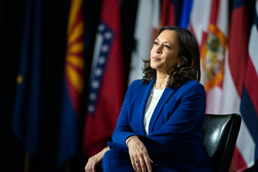 Senator+Kamala+Harris+at+the+announcement+as+candidate+for+Vice+President+of+the+United+States+on+Aug.+12.