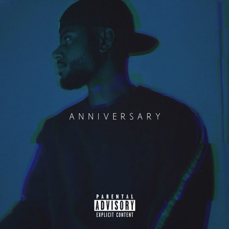 Bryson Tiller album cover for A N N I V E R S A R Y
