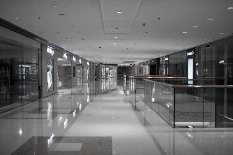 """Hong Kong: Empty Mall"" by Yiie is licensed under CC BY 2.0"