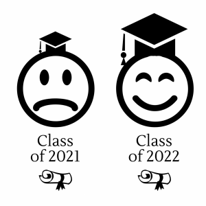 The class of 2022 should be optimistic able being able to have a more normal senior year than the two classes before it.