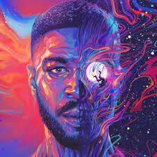 Kid Cudi's newest cover art, takes on the astral touches of his previous works and reinvents them.