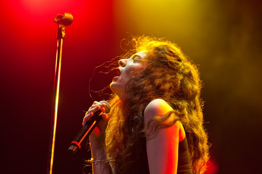 Lorde at Lollapalooza in 2014, relishing in the success of her first album.