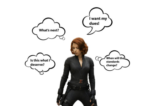 Is Black Widow over-sexualized?