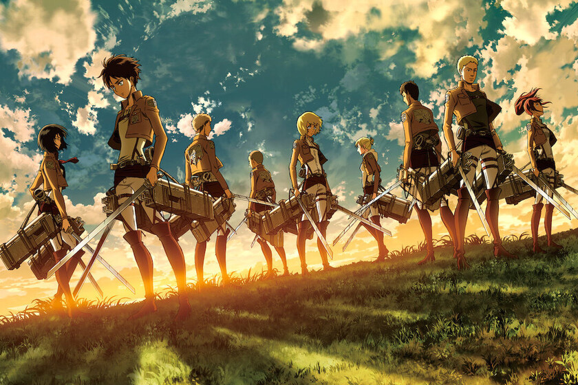 The famous stance of Attack on Titans most beloved characters