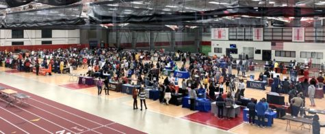 H-Fs 2021 College Night that hosted over 140 colleges and universities.