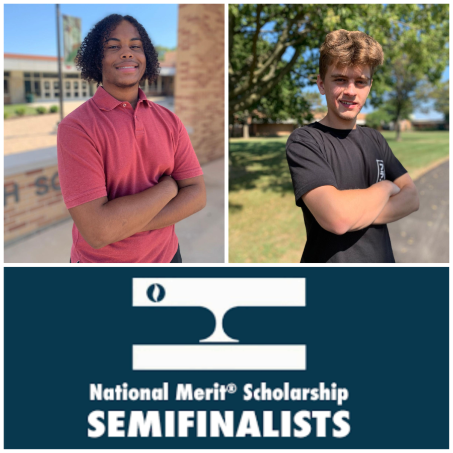 Semifinalists pictured from left to right, Carter Langston and David Gibek.